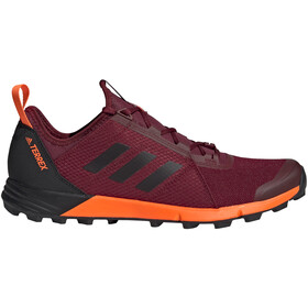 adidas TERREX Agravic Speed Shoes Herren collegiate burgundy/core black/solar orange